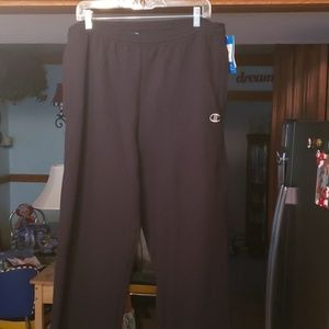 Champion wide leg athletic pants